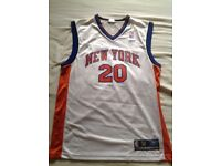 Classic New York Knicks #20 Allan Houston Basketball Jersey - size Medium
