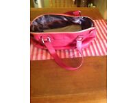 NEW PINK TED BAKER Handbag without price tag but with dust bag