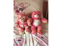 PINK BUILD A BEAR £10 EACH OR BOTH FOR £15