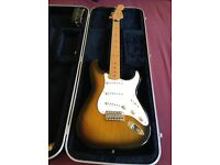 Fender USA 1991 Vintage Re-Issue 50s Stratocaster, Sunburst - buyer collects