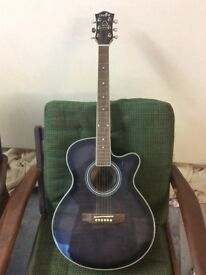 Chord Semi Accoustic Guitar