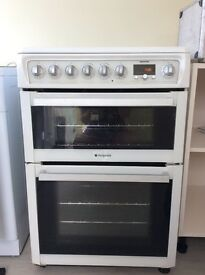 Hotpoint free standing oven