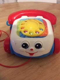 Fisher Price Pull Along Phone