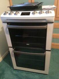 Zanussi freestanding white gas cooker