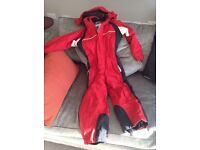 Kids all-in-one ski suit age 5-6