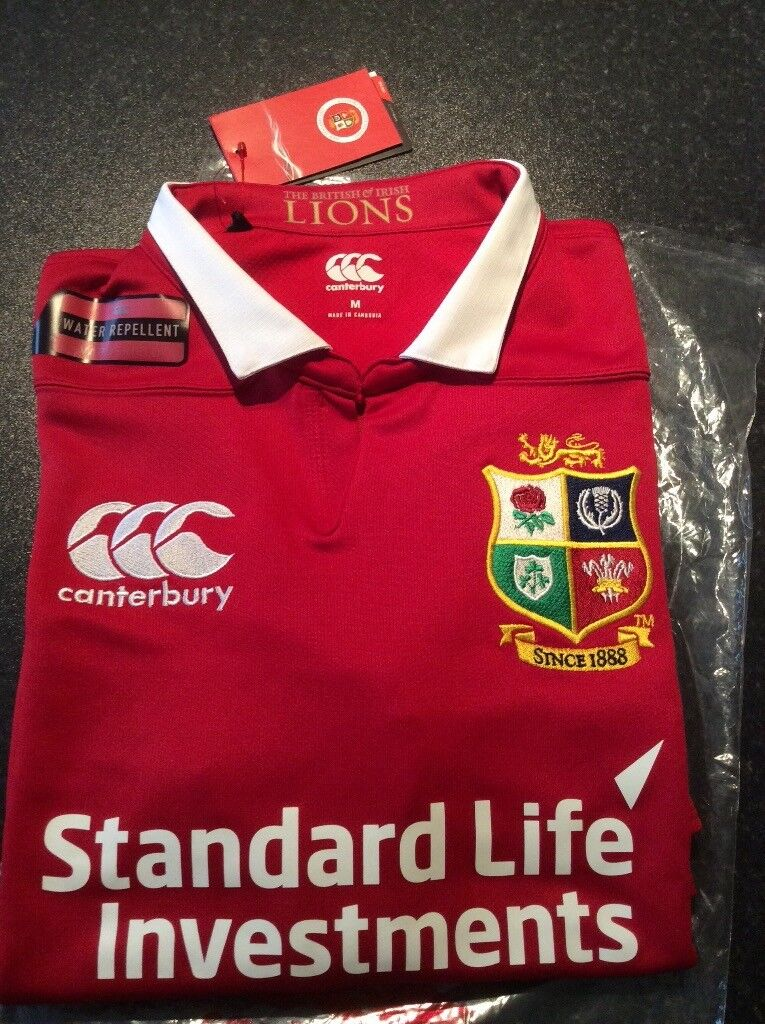4e36e4f85f3 New British & Irish Lions Rugby Shirt - Medium | in Belfast City Centre ...