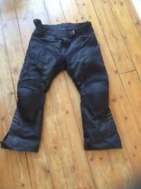 Textile motorcycle trousers