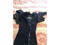 5x6x7mm alder wet suit Xxl including size10 boots used a handful of times so as new