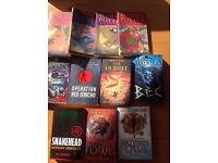 Selection of books for teenagers