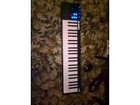 Alesis V49 USB MIDI Controller Keyboard working fine i have more accesories