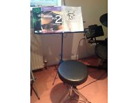 Session pro DDo5 drums with stand seat and music books