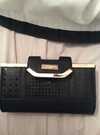 river island black purse