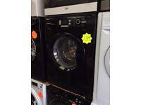 BEKO WMB81241LB 9kg 1200spin Black Washing Machine with 4 MONTHS WARRANTY