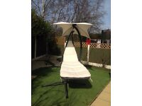 Swing lounger hammock style new condition only used twice.