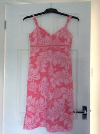 Dress Pink Quiksilver size 10