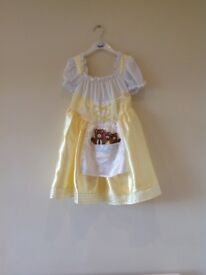 New Goldilocks fancy dress with 3 bears 1-2yrs