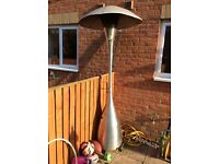 GAS PATIO HEATER (B&Q MILAN STAINLESS STEEL)