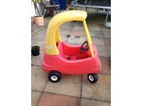 Little Tykes Car and Rocking Seesaw