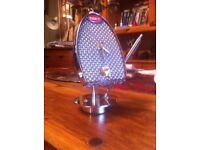 Bugatti desk clock & pen (hand made)