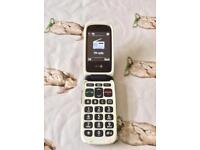 Doro big button mobile phone with SOS button ideal for emergency phone , carer etc