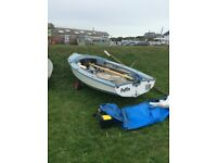 Wayfarer Mk 1 Sailing Dinghy for sale- great family boat!