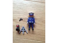 Playmobile policeman and speed camera 4669