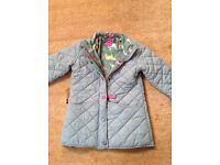 Girls joules padded jacket age9-10