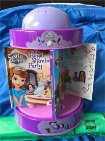 Disney princess Sofia night light and musical book carousel