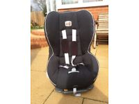 Britax car seat, for 9 months and above, only used for grandsons visits