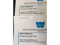 Kraftwerk 2 tickets Waterfront Hall Belfast 4th June 2017