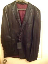 Paul Smith Nappa Leather jacket XL
