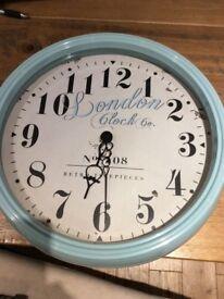 Large retro style clock