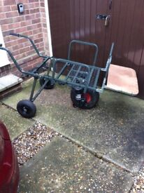 Power porter barrow with 2 batteries and charger