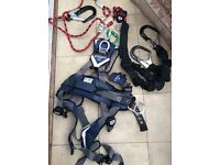 Profissionall Harness complete set to climb turbines or so very cheap
