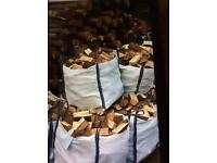 SEASONED TOP QUALITY HARD / SOFT WOOD SPLIT LOGS , FIRE WOOD