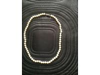 CULTURED PEARL NECKLACE (open to offers)
