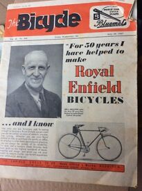 """""""Cycling"""" magazines 1930's vintage"""