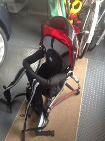 Backpack child's seat/carrier