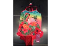 TU girls swimming costume age 8. NEW