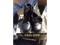 Selection men's Steel toe cap work boots