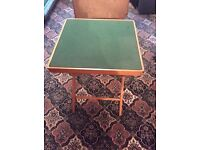 1960s card table