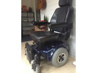 Power chair,vgc, very comfortable, 4mph, think it does up to 20 miles on a full charge
