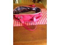 Ted Baker Pink Leather Handbag