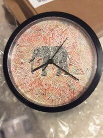 Wall clock to sell - new