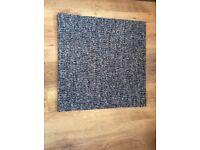 Carpet Tiles Grey double insulated heavy duty