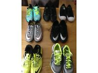 Trainers and Astro football boots sizes 4 - 7