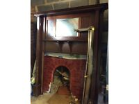 Antique fireplace (1920's)