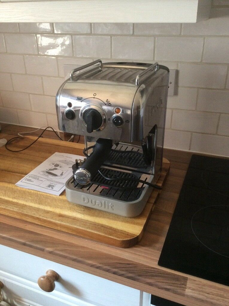 Dualit 3 In 1 Coffee Machinenot Functioning Correctly For Spares Or Repair In South Woodham Ferrers Essex Gumtree