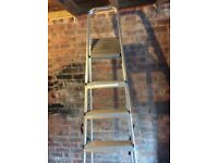 Ladder 7 thread steps steel