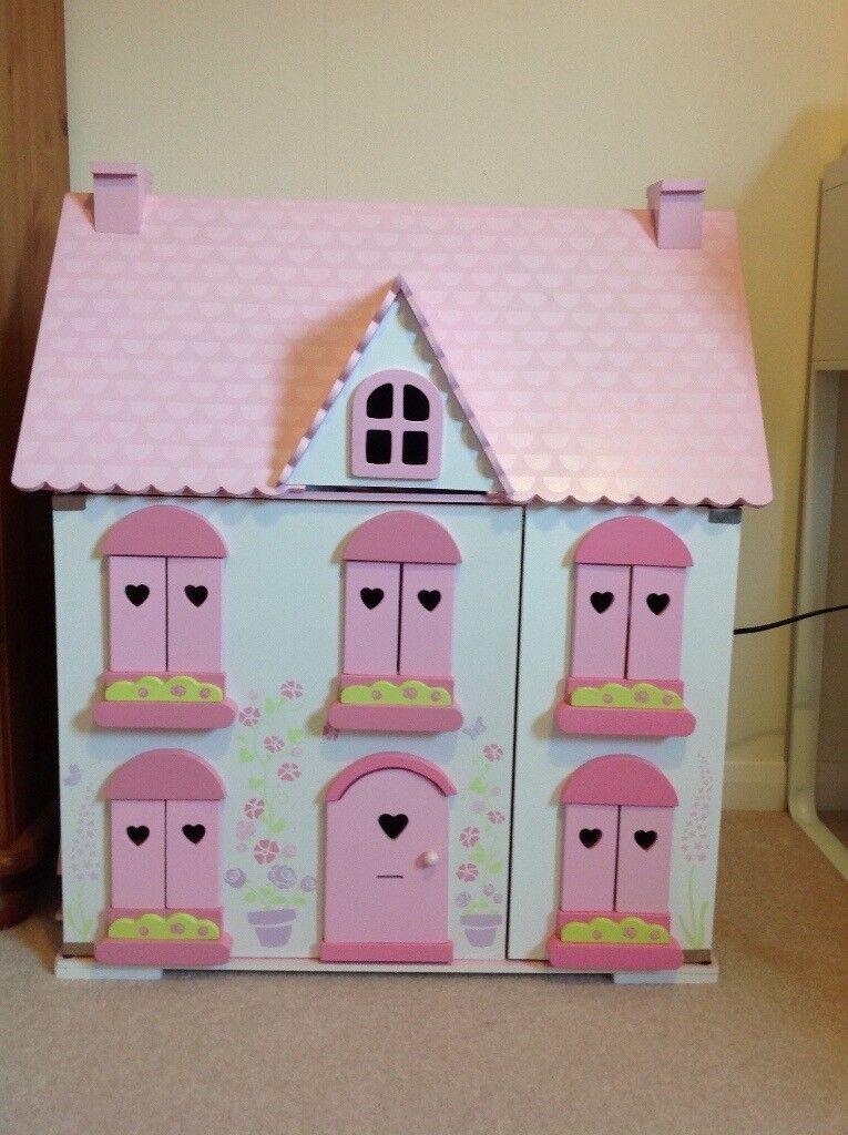 ELC Rosebud Cottage, Furniture & Dolls